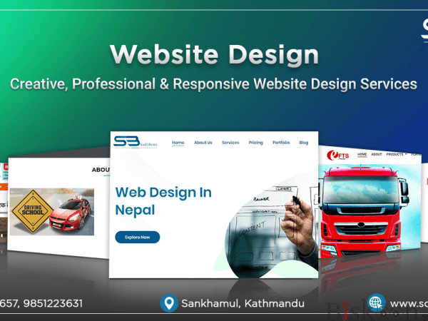 Softbenz: Website Design in kathmandu
