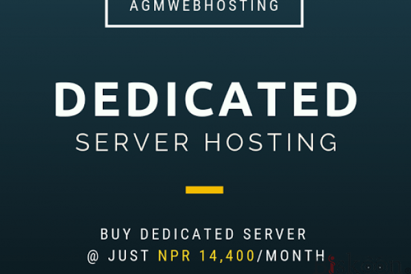 Dedicated Server by AGM webhosting