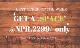 "Get a "".SPACE"" Domain at Just NPR.2299/- Only! - AGMWebHosting"