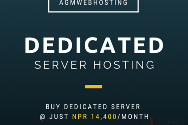 Get  Affordable  Dedicated Server Hosting By Nepal  Agm Web Hosting.