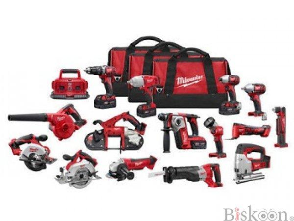 MilWauKees 2695-15 M18 2896-26 M18 FUEL 18V Cordless Lithium-Ion Combo Tools Kits