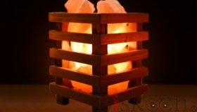 Himalayan Pink Salt Basket from Pyramid Tatva Nepal