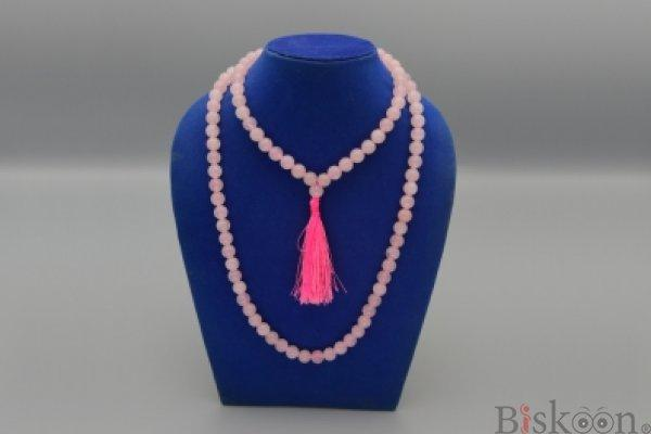Rose Quartz Mala from Pyramid Tatva Nepal