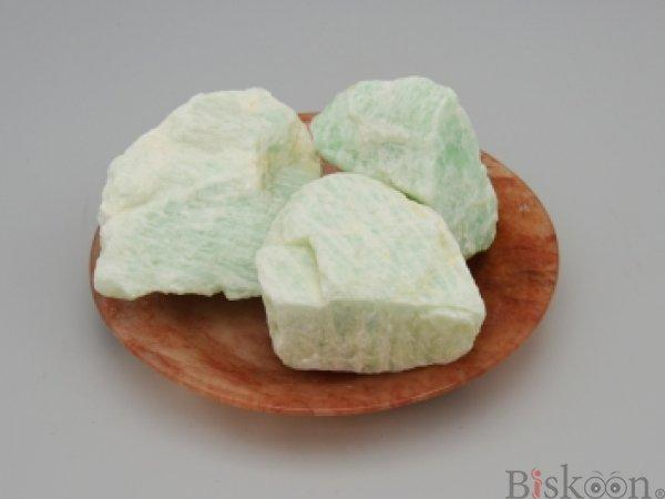 Amazonite Raw from Pyramid Tatva Nepal