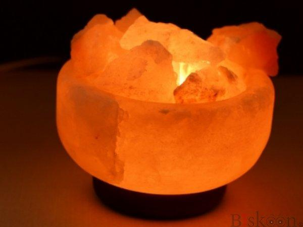 Himalayan Pink Salt Lamp from Pyramid Tatva Nepal