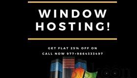 Get Flat 25% Off on Window Hosting. Offer Valid for Few Days