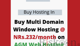 Buy Multi Domain Window Hosting @ NRs.232/month on AGM Web Hosting