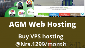 Buy VPS Hosting @Nrs.1299/month with Grand Offer-AGM Web Hosting