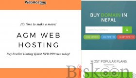 Start your online Business with AGM Web Hosting