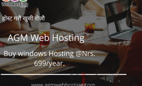 Buy Windows Hosting on AGM Web Hosting
