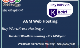 Buy WordPress hosting @Nrs.1600/year with instant cashback on Khalti