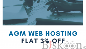 Get Flat 3% Discount (Buy & Transfer ) on .COM Domain - AGM Web Hosting