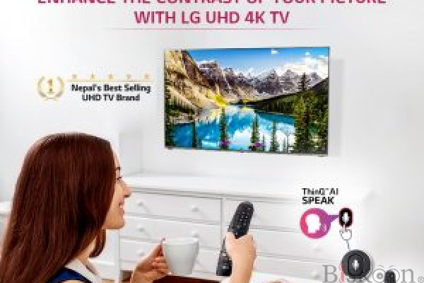 Experience a new level of full HD with LG's best budget 4K TV
