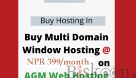 Multi Domain Window Hosting - AGM Web Hosting