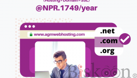 AGM GRAND SALE  Combo Hosting Offer at just NPR.1749/year  in Nepal