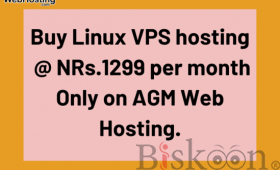 Best Linux vps hosting in nepal  at Rs. 1299/month AGM WEB HOSTING