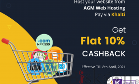 Sale domain and hosting get 10% instant cashback.