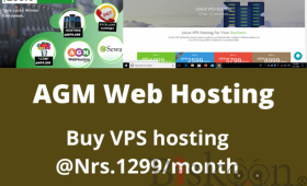 VPS Hosting Plan started  price at just NPR1299/month only and on sale 35%off