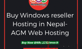 Window Reseller Hosting plan at just NPR 2232/month  AGM WEB HOSTING.