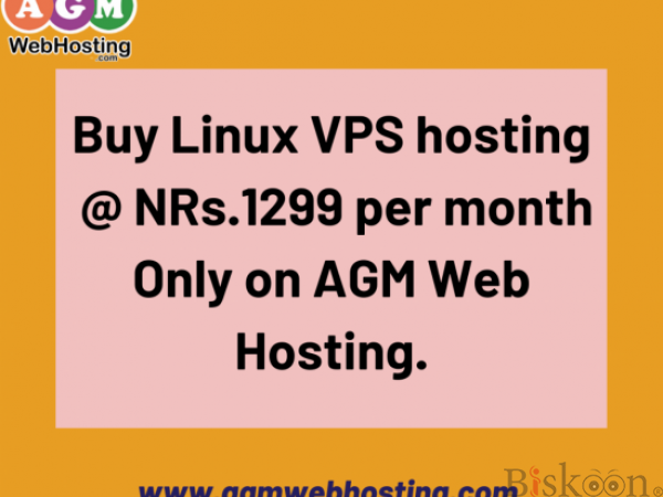 Linux vps hosting in nepal  at just  Rs. 1299/month AGM WEB HOSTING
