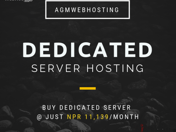Cheapest and Reliable Dedicated Server Hosting Plan in Nepal - AGM Web Hosting