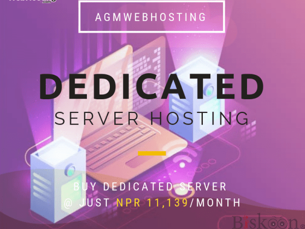 Cheapest Dedicated Hosting Services by AGM Web Hosting in Nepal