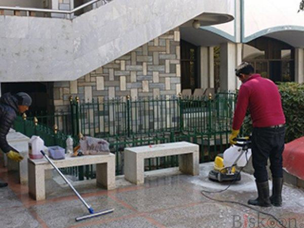 Marble, tiles and chips cleaning serice