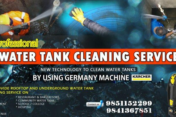 Water tank cleaning service in nepal