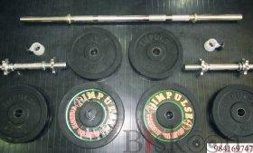 Dumbell & Barbell Set